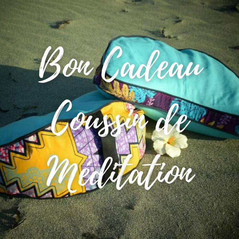 Bon cadeau coussins de méditation
